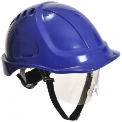 Portwest PW54 Endurance Plus Visor Hard Hat Helmet